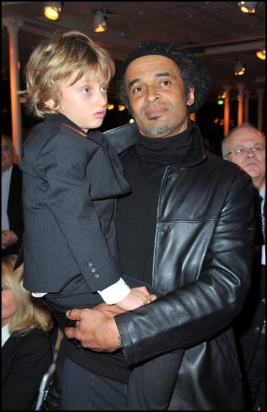 Yannick Noah et son fils Joalukas