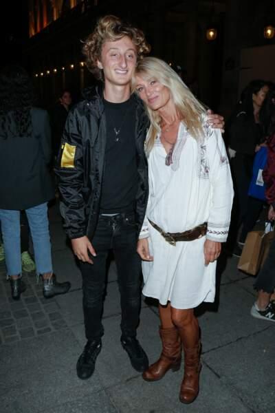 Isabelle Camus et son fils Joalukas Noah