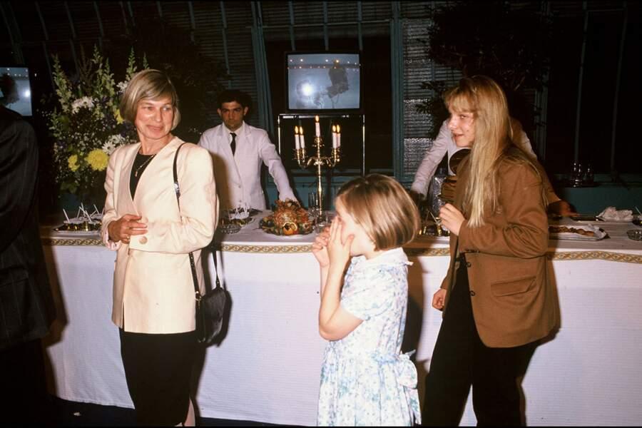 Le couple a eu six enfants ensemble. Dorothée, l'ainée, puis Arnaud, né en 1972, Tiphaine, née en 1974, Solenn, née en 1975, Garance, née en 1980 et Morgane, née en 1981.