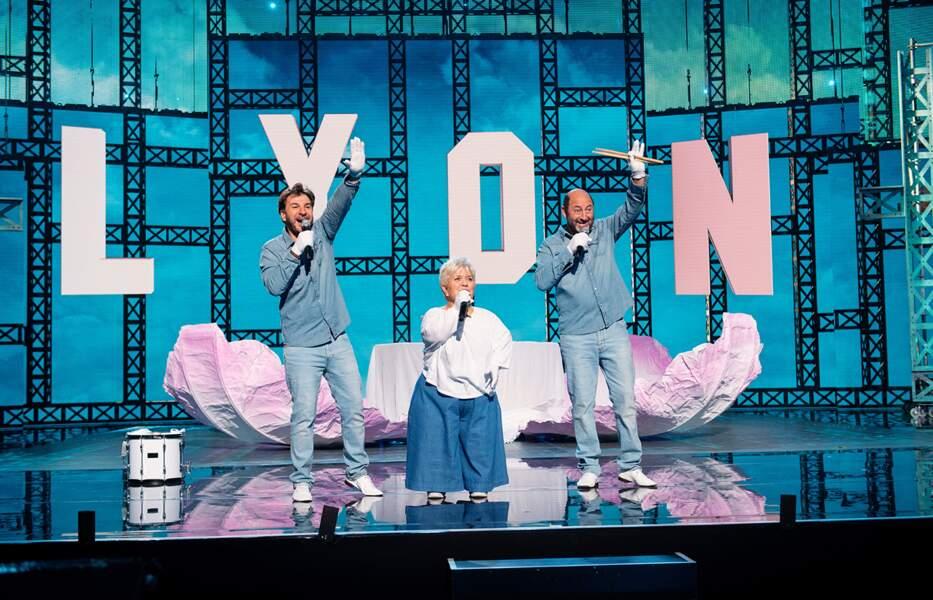 Le tournage a eu lieu à La Halle Tony Garnier à Lyon, mais sans public, en raison de la crise sanitaire.