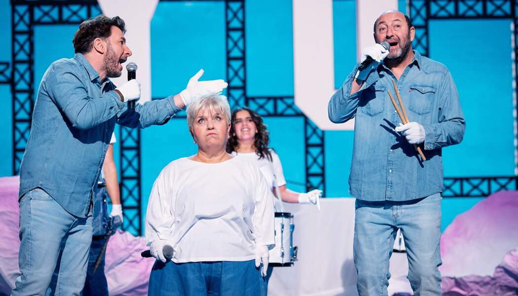 Michaël Youn, Mimie Mathy et Kad Merad.
