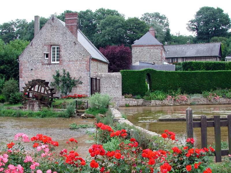 Cressonnières et moulins à Veules-les-Roses