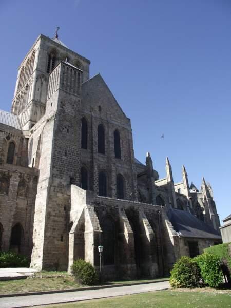 L'abbatiale de la Sainte-Trinité à Fécamp