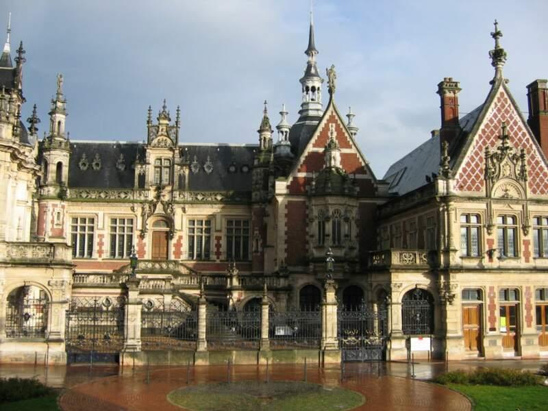 Le palais de la Bénédictine à Fécamp