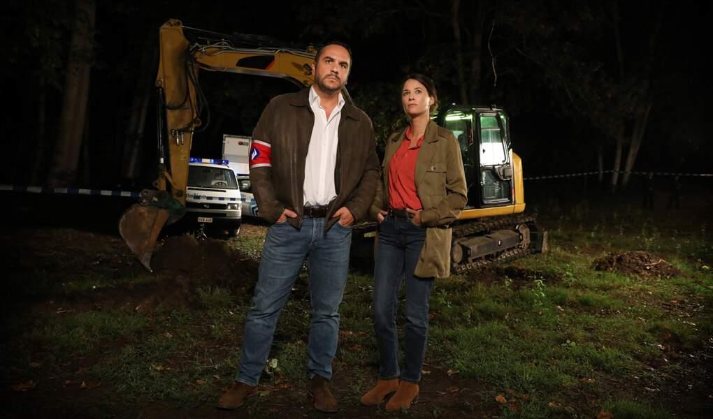 Les policiers interprétés par François-Xavier Demain (Yan Declerck) et Mélanie Bernier (Margaux Nielsen) ne portent pas les vrais noms des enquêteurs.