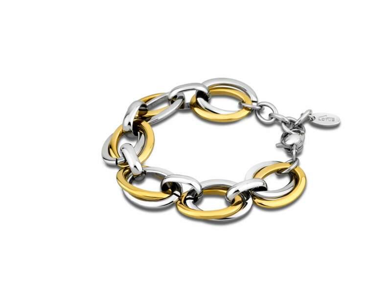 Le bracelet bicolore