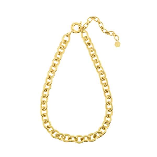 Le collier doré