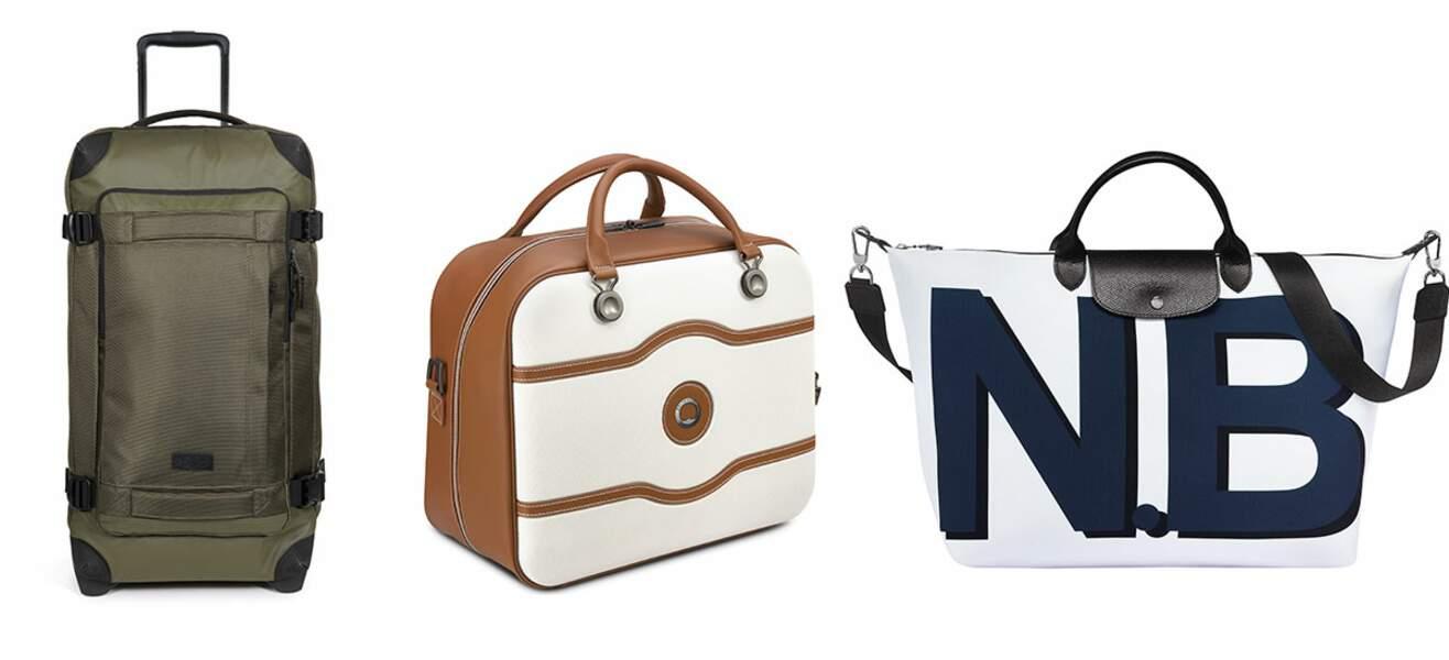 Ces bagages tendance qui vous suivront partout dans vos escapades...