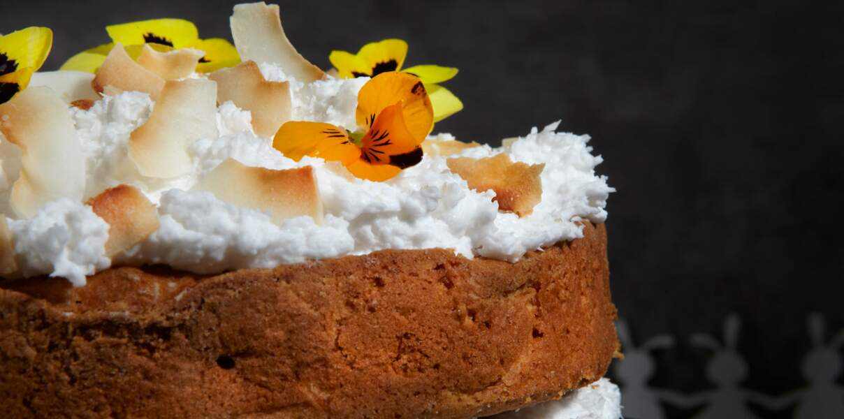 Carrot Cake de Pâques vegan
