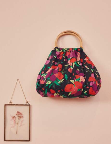 Tendance sacs : le modèle fleuri