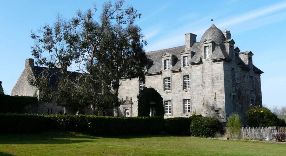 Le château de Kerouartz à Lannilis