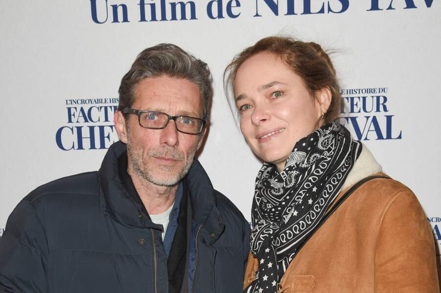 Nils Tavernier avec sa femme Ondine Tavernier (2019)