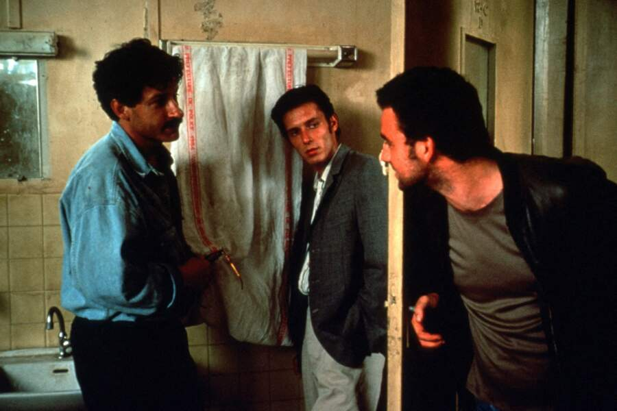 """Nils Tavernier dans le film """"L.627"""" réalisé par son père Bertrand Tavernier (1992)"""