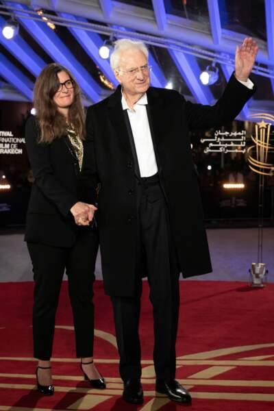 Bertrand Tavernier et sa femme Sarah Tavernier (2019)