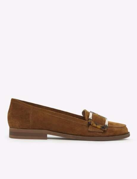 Chaussures tendance : les mocassins en daim