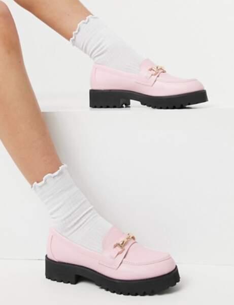 Chaussures tendance : les mocassins pastel