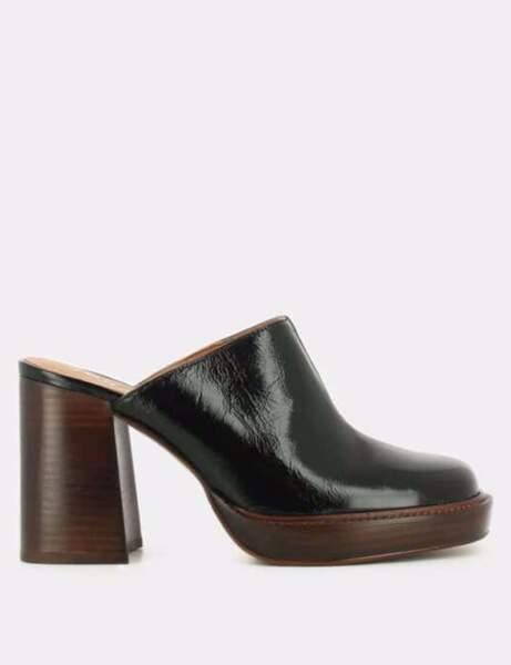 Chaussures tendance : les mules à plateformes