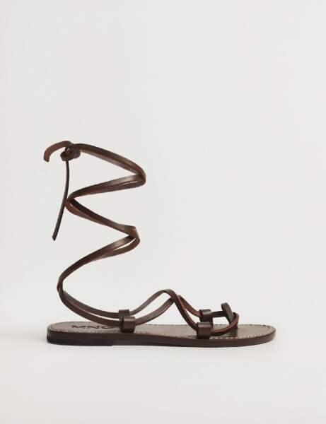 Chaussures tendance : les nu-pieds à lanières