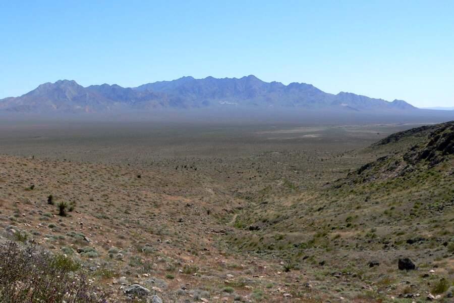 Le désert californien, le début du voyage