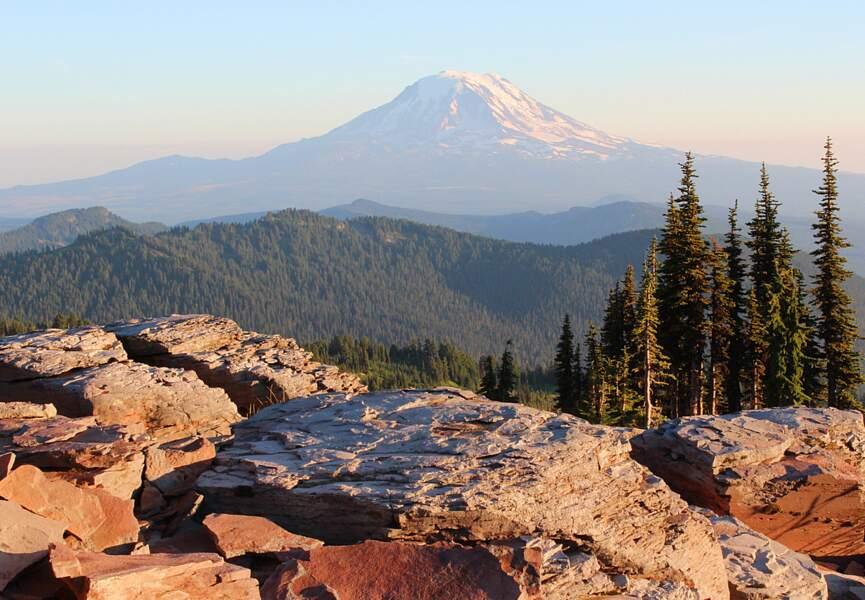 Le glacier Peak Wilderness dans l'Etat de Washington