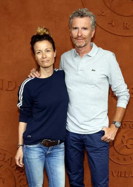 """En effet, Denis Brogniart a démarré sa relation avec sa femme Hortense, qu'il avait déjà croisée dans les locaux de TF1, sur le tournage de """"Koh-Lanta"""" saison 3, au Panama, en 2003."""