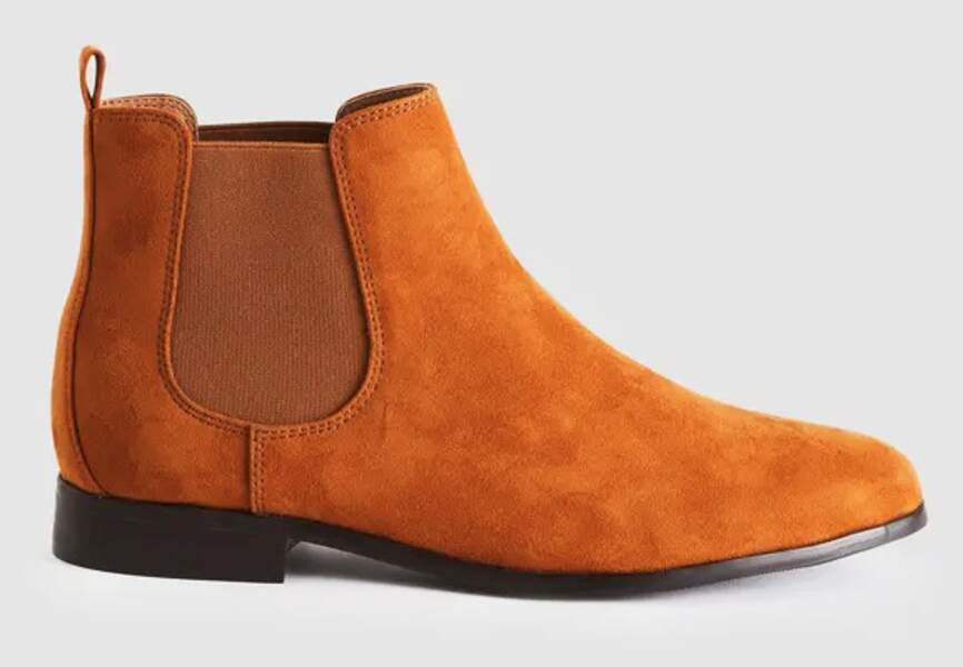 Bottines tendance : camel