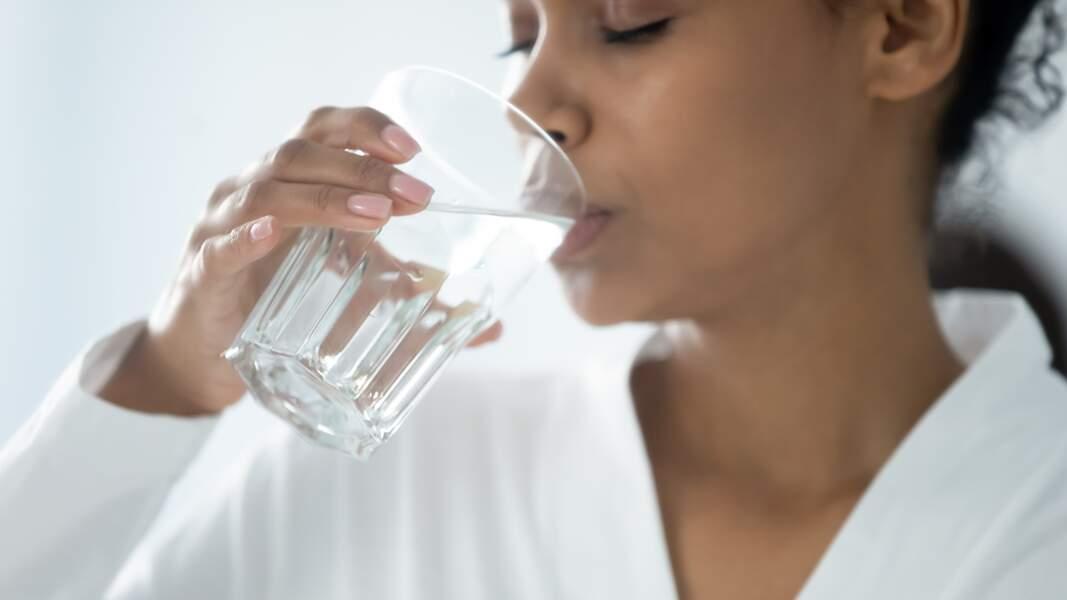 Vous buvez peu d'eau