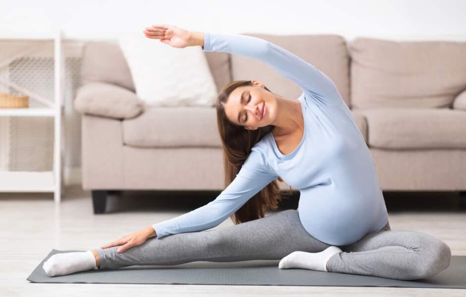 Les exercices spécial femme enceinte de notre coach sportive