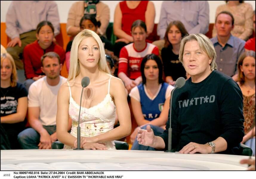 Loana et Patrick Juvet (2001)