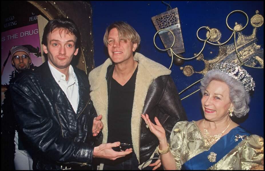 """Pierre Palmade et Patrick Juvet au """"Queen"""" (1994)"""