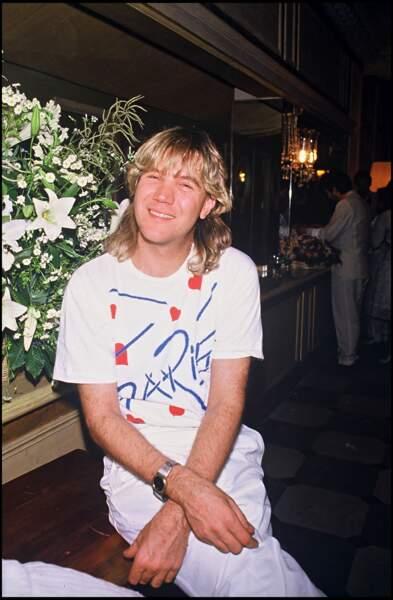 Patrick Juvet au mariage d'Eddy Barclay (1984)