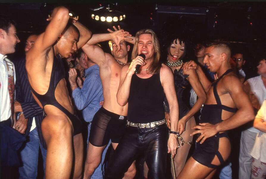 """Patrick Juvet au """"Queen"""" en 1995"""
