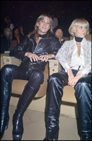 Patrick Juvet au concert de Sylvie Vartan (1975)