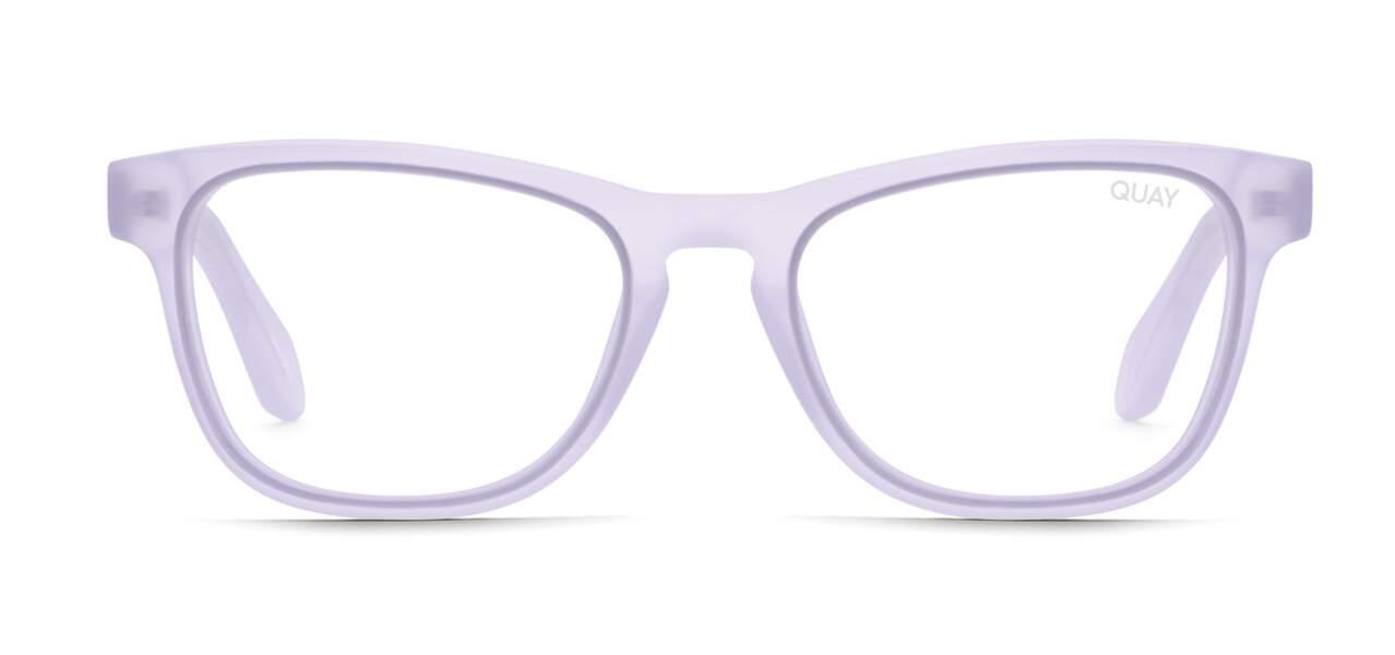 Mauve tendance : des lunettes stylées