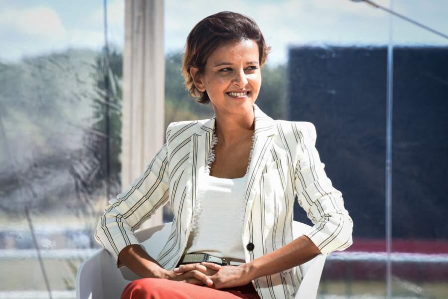 Najat Vallaud-Belkacem est de retour dans la vie politique.