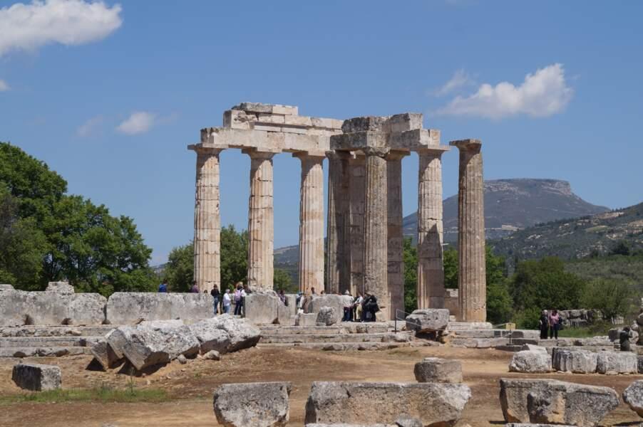 Le temple de Zeus à Némée