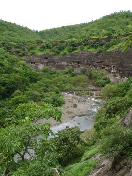 Les grottes d'Aurangabad, des sanctuaires bouddhistes