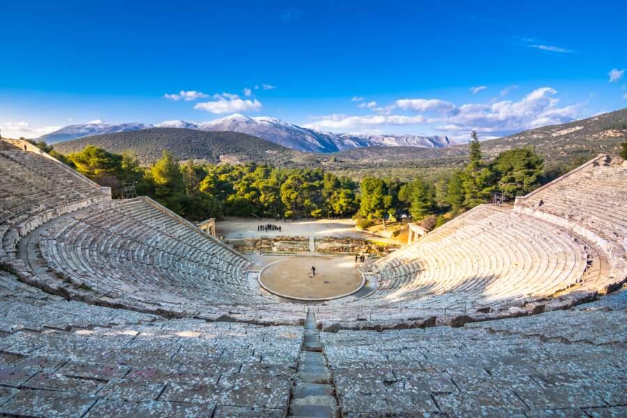 Le théâtre antique d'Epidaure