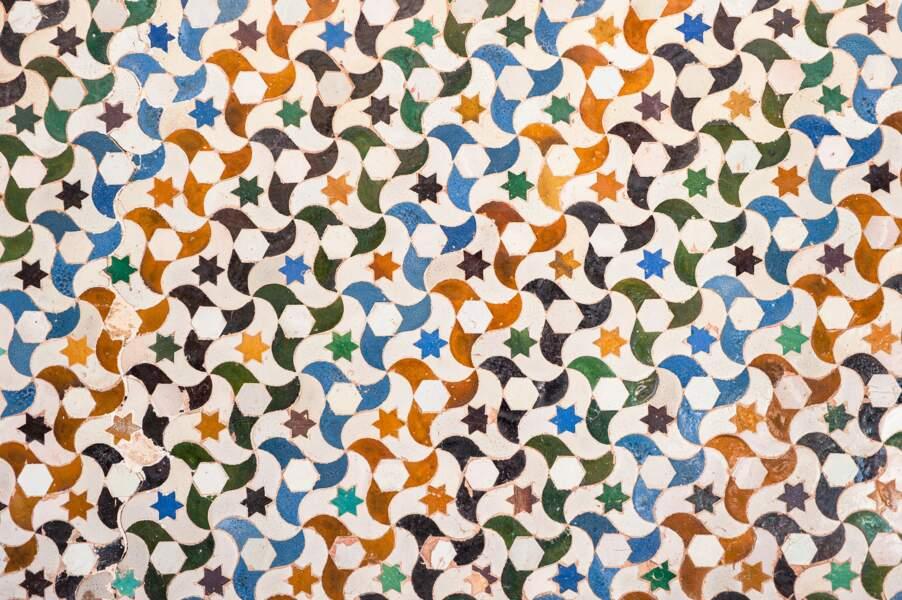 Des azulejos aux motifs inanimés