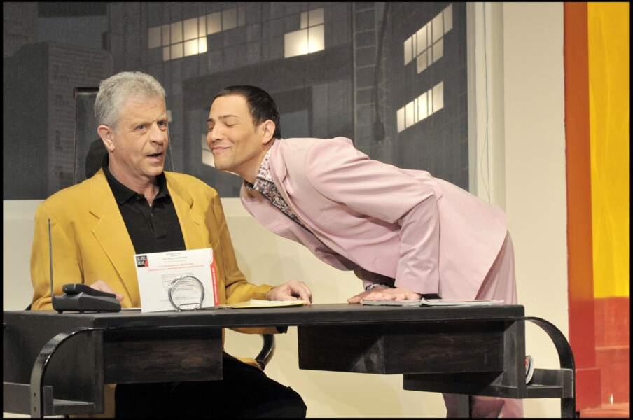 """L'ex-lofteur se lance également dans la comédie, que ce soit au théâtre, comme dans """"Ma femme est folle"""", aux côtés de Georges Beller, en 2009, ou dans des séries télé comme """"Capitaine Marleau""""."""