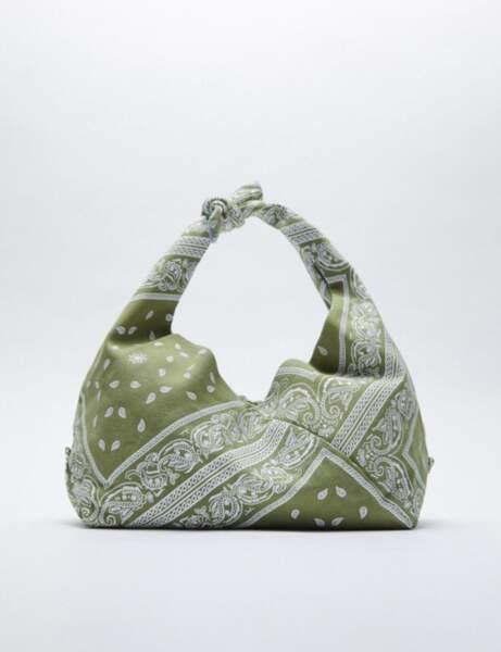 Tendance bandana : le sac à nouer