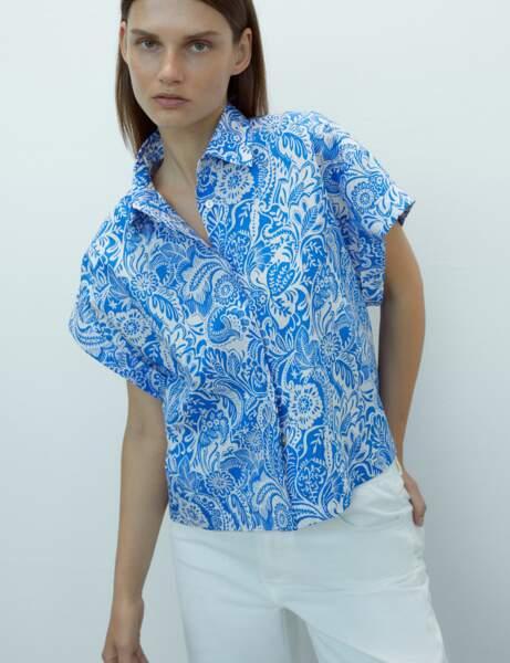 Tendance bandana : la chemise preppy