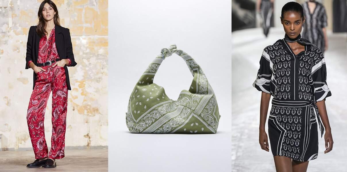 Le bandana revient en 2021 : 20 modèles pour l'adopter cette saison