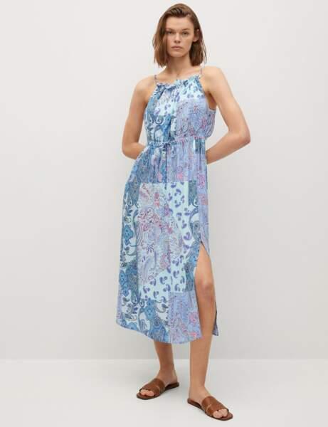 Tendance bandana : la robe mix & match