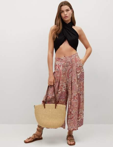 Tendance bandana : la jupe-culotte