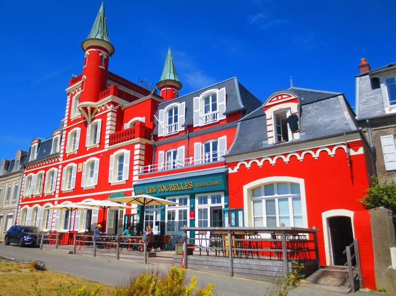 Les Tourelles, édifice emblématique du Crotoy devenu hôtel
