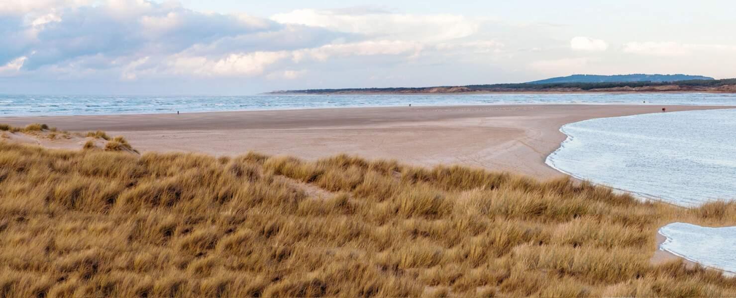 La baie de Somme s'étend sur 70 km2