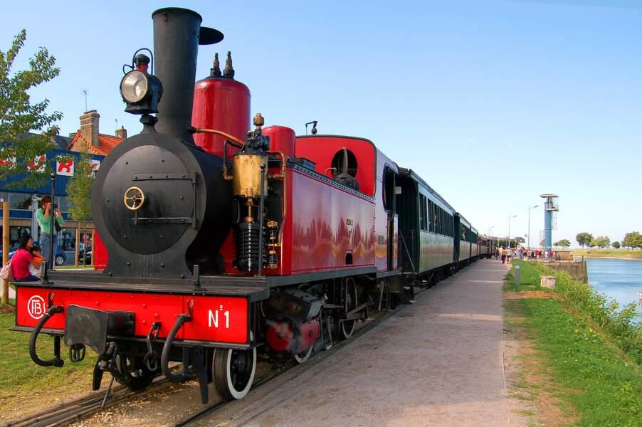 La ligne Noyelles-sur-Mer - Le Crotoy a été mise en service en 1887
