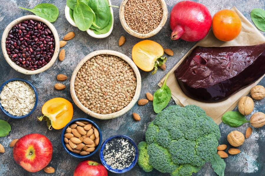 10 aliments riches en fer pour un régime sans carences