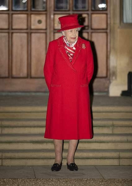 La reine Elisabeth II d'Angleterre